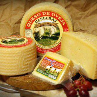Bodegón queso de oveja semicurado